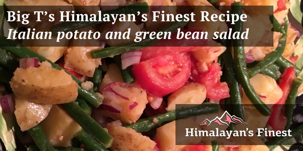 Big T's Italian potato and green bean salad