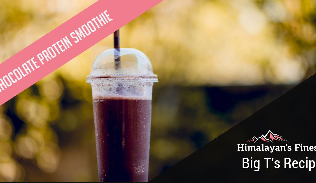 Himalayan's Finest Chocolate Protein Smoothie
