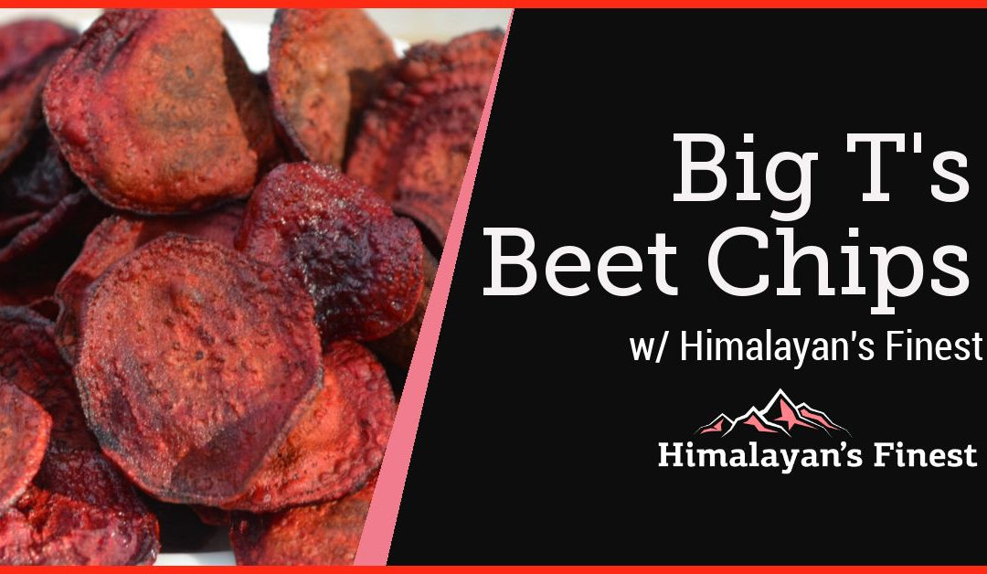 Big T's Beet Chips with Himalayan's Finest